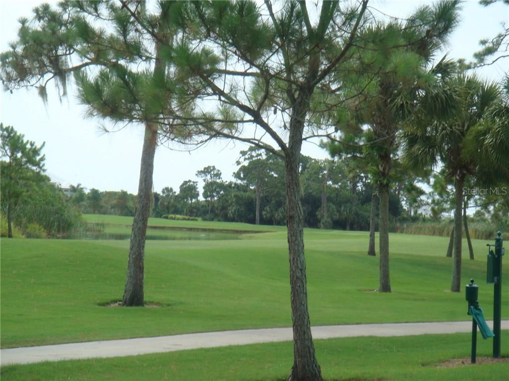 9980 Eagle Preserve Drive borders the Lemon Bay Golf Course, which provides a peaceful and beautiful setting as well as a buffer. - Vacant Land for sale at 9980 Eagle Preserve Dr, Englewood, FL 34224 - MLS Number is D5917467