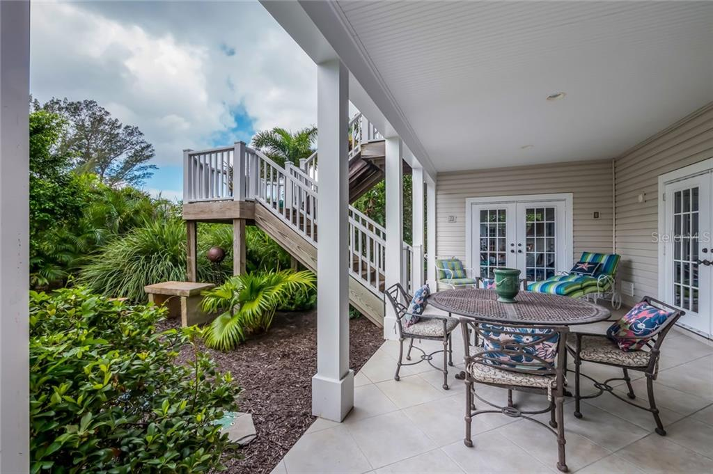 Outdoor patio - Single Family Home for sale at 9891 Gasparilla Pass Blvd, Boca Grande, FL 33921 - MLS Number is D5920572