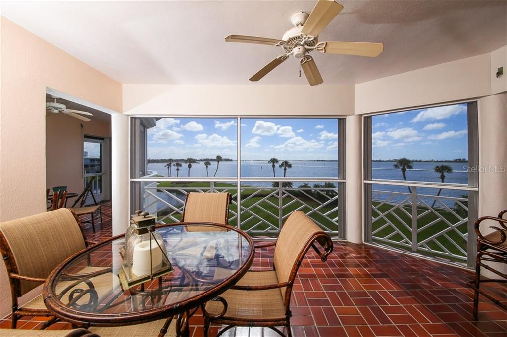 Lanai with expansive Intracoastal views - Condo for sale at 11000 Placida Rd #2804, Placida, FL 33946 - MLS Number is D5920736