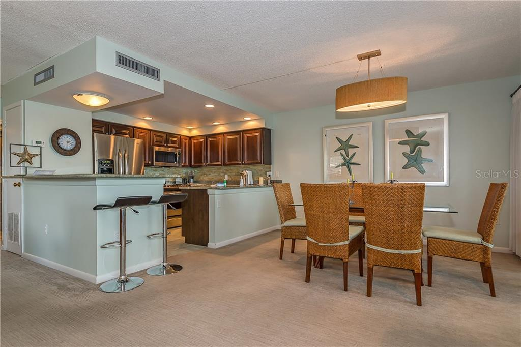 DINING AND KITCHEN AREA - Condo for sale at 5700 Gulf Shores Dr #a-317, Boca Grande, FL 33921 - MLS Number is D5922412