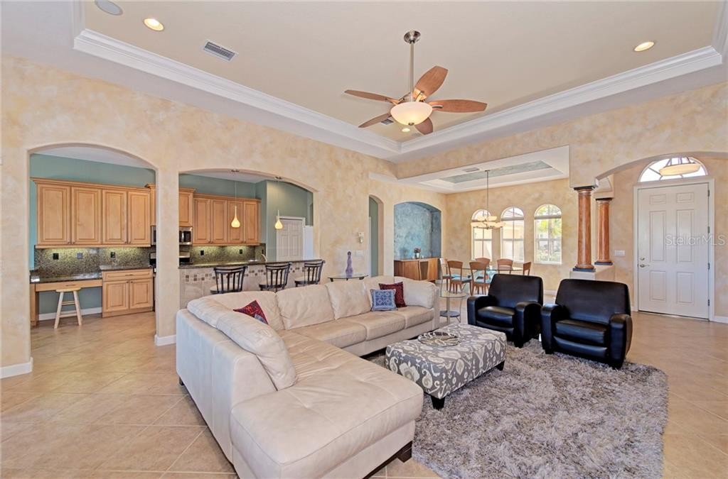 Open floor plan - Single Family Home for sale at 409 Montelluna Drive, North Venice, FL 34275 - MLS Number is D5923522
