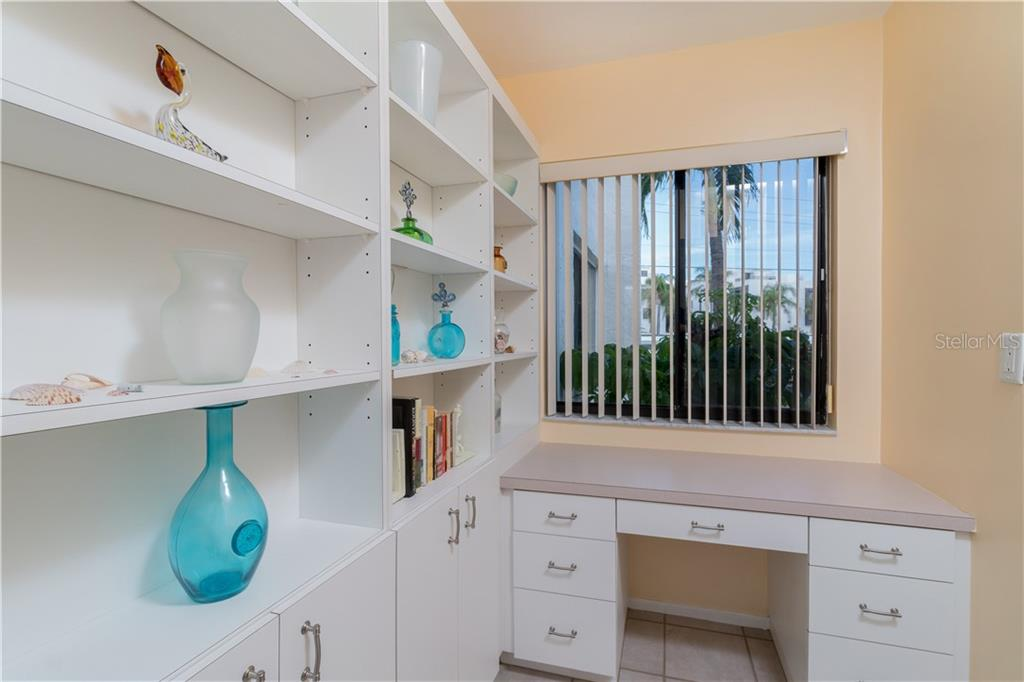 Kitchen Built In with Desk - Condo for sale at 2955 N Beach Rd #b612, Englewood, FL 34223 - MLS Number is D6101147