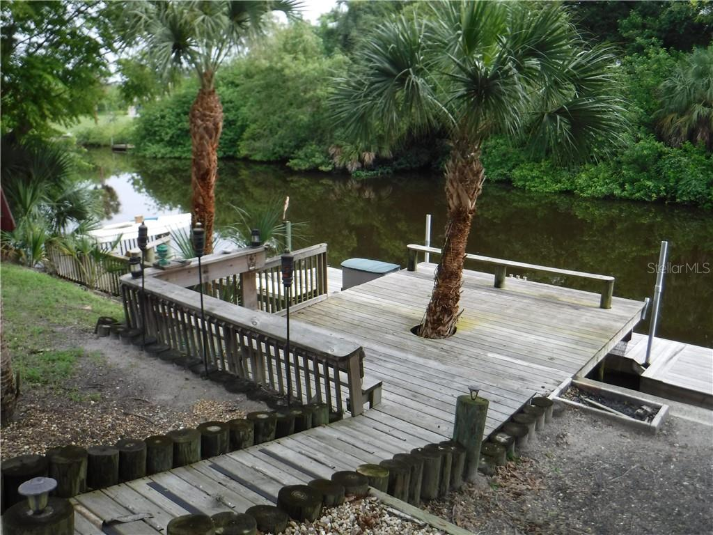 Look at that impressive decking. - Single Family Home for sale at 3001 Pellam Blvd, Port Charlotte, FL 33948 - MLS Number is D6101282