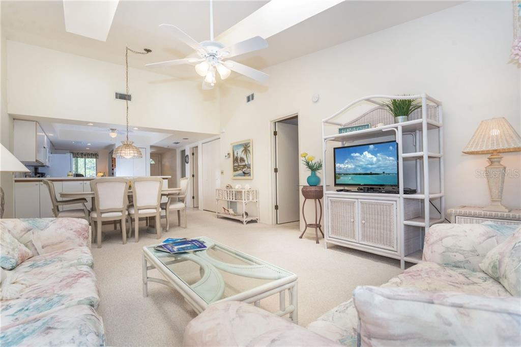 Skylights add natural light and brightness to this open and bright condo. - Condo for sale at 6800 Placida Rd #271, Englewood, FL 34224 - MLS Number is D6106459