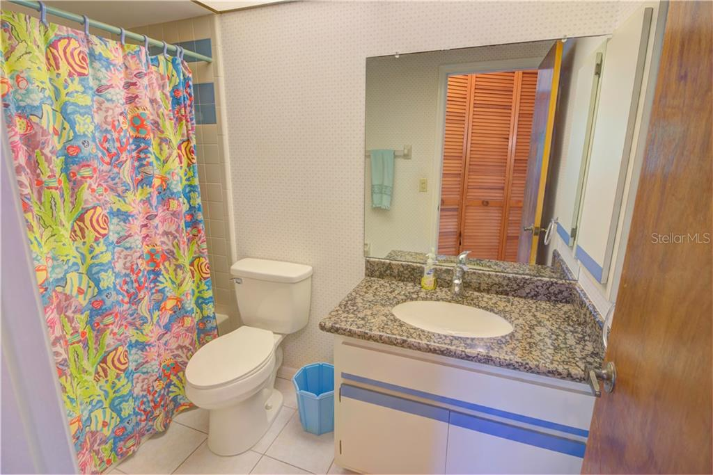 2nd/hall bath. - Single Family Home for sale at 110 Wilhelm Dr, Englewood, FL 34223 - MLS Number is D6107778