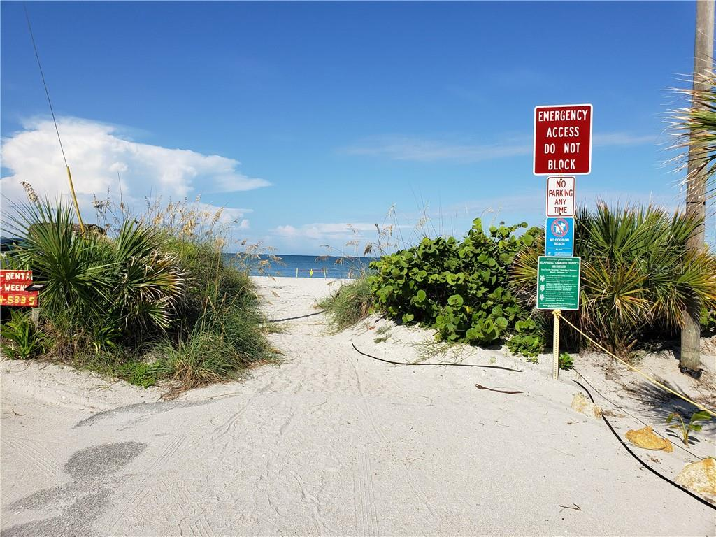 At the west end of Wilhelm - just a walk of a minute or two - is public access to the beach and the Gulf of Mexico. - Single Family Home for sale at 110 Wilhelm Dr, Englewood, FL 34223 - MLS Number is D6107778