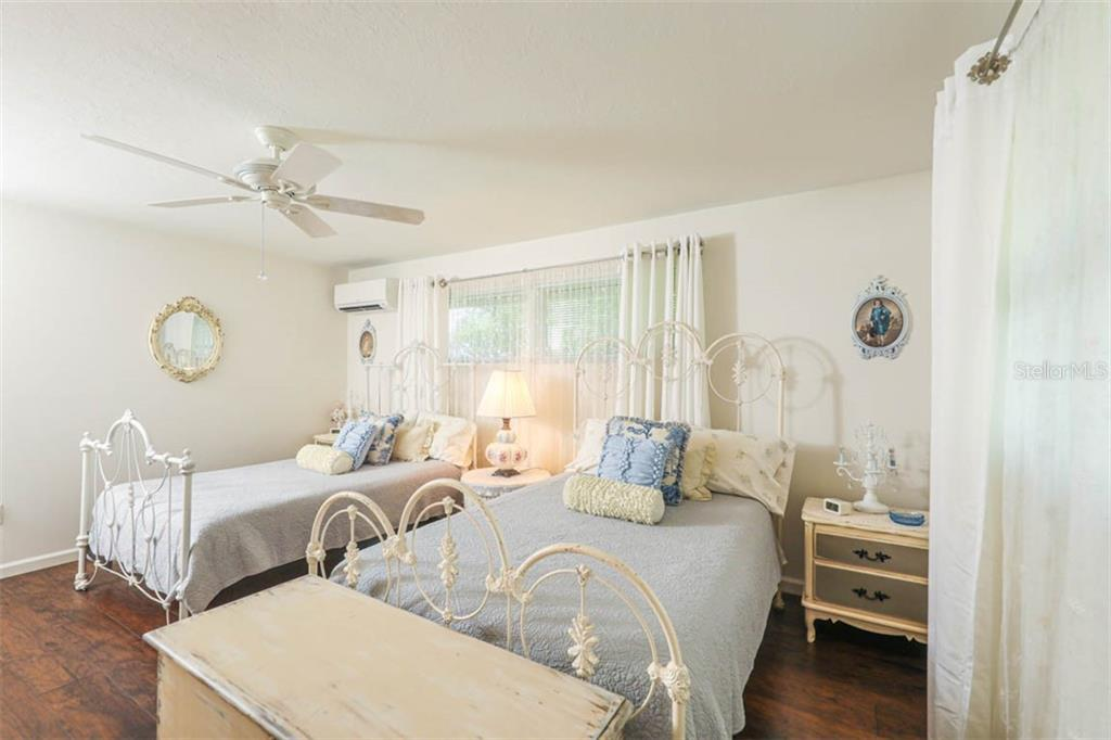 Second Bedroom - Single Family Home for sale at 1626 New Point Comfort Rd, Englewood, FL 34223 - MLS Number is D6108454