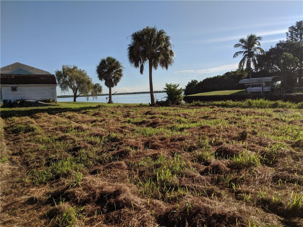 View of river from center lot. - Vacant Land for sale at 2400 Vance Ter, Port Charlotte, FL 33981 - MLS Number is D6109360