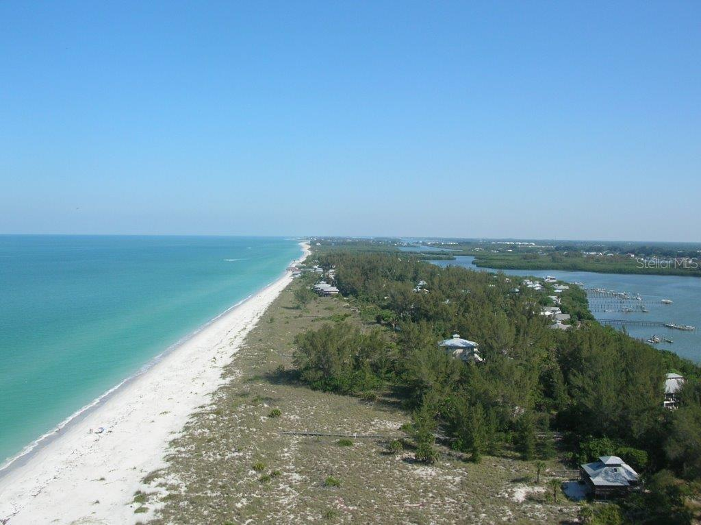 Aerial View of the Beach. - Single Family Home for sale at 540 N Gulf Blvd, Placida, FL 33946 - MLS Number is D6110801