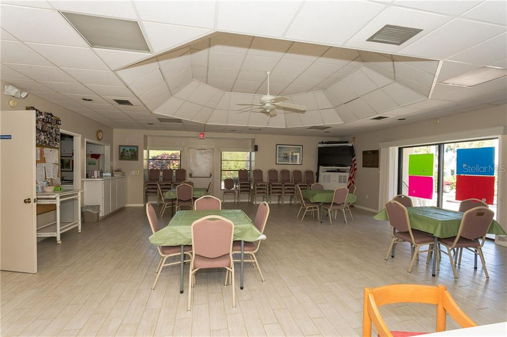 Community room - Condo for sale at 1551 Beach Rd #412, Englewood, FL 34223 - MLS Number is D6110828