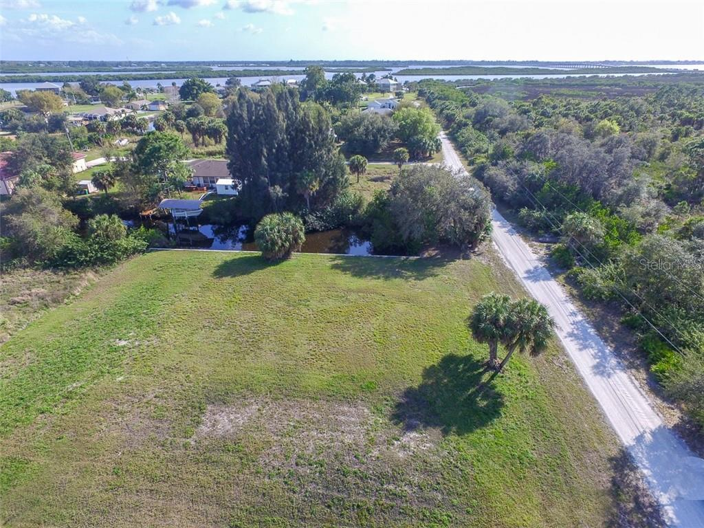 View from both lots - Vacant Land for sale at 26361 View Dr, Punta Gorda, FL 33983 - MLS Number is D6110988