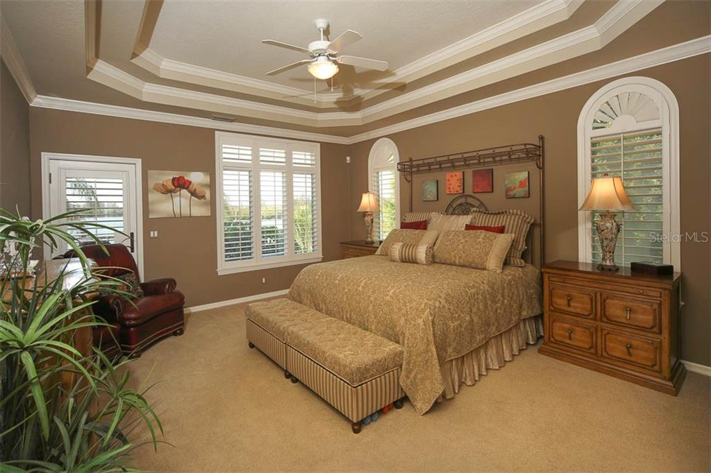 MASTER BEDROOM WITH DETAILED CEILING! - Single Family Home for sale at 500 Anchor Row, Placida, FL 33946 - MLS Number is D6111649