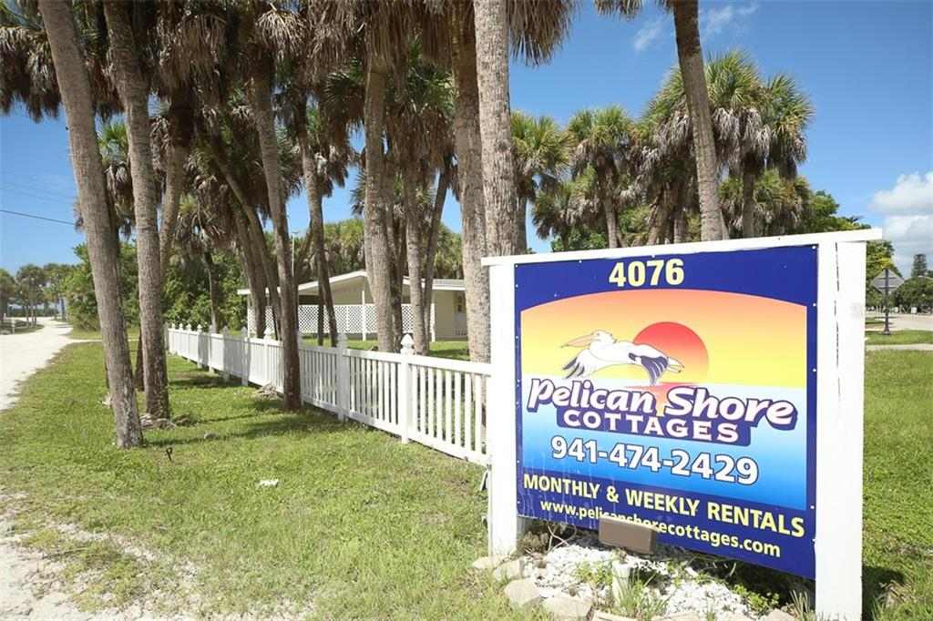 Pelican Shores Cottages - Single Family Home for sale at 4074 N Beach Rd #Ctg4, Englewood, FL 34223 - MLS Number is D6114111