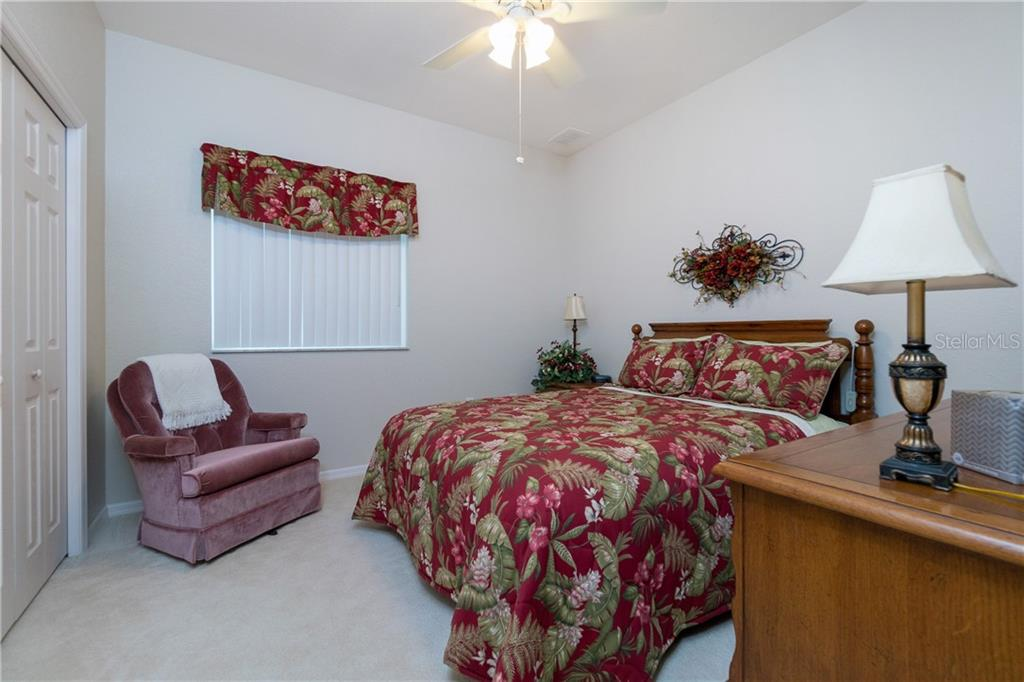 Bedroom #2 - Single Family Home for sale at 439 Boundary Blvd, Rotonda West, FL 33947 - MLS Number is D6114162
