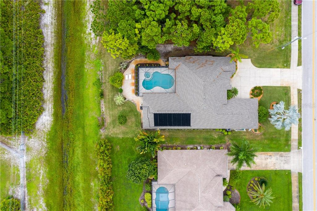 Aerial view 6 - Single Family Home for sale at 439 Boundary Blvd, Rotonda West, FL 33947 - MLS Number is D6114162