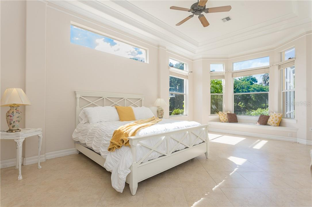 Master Bedroom en-suite - Single Family Home for sale at 18 Saint Croix Way, Englewood, FL 34223 - MLS Number is D6114880