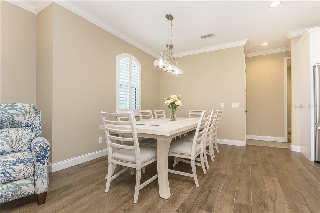 Large dining area - Single Family Home for sale at 145 Leland St Se, Port Charlotte, FL 33952 - MLS Number is D6117438
