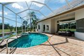 Pool and Main Lanai - Single Family Home for sale at 422 Wincanton Pl, Venice, FL 34293 - MLS Number is D6101809