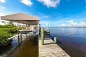 Canopied Boat Lift - Single Family Home for sale at 1636 New Point Comfort Rd, Englewood, FL 34223 - MLS Number is D6108467