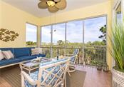 Lanai with peaceful views - Condo for sale at 8561 Amberjack Cir #202, Englewood, FL 34224 - MLS Number is D6109771