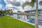 Relax on the dock or take your boat out for a ride - Single Family Home for sale at 145 Leland St Se, Port Charlotte, FL 33952 - MLS Number is D6117438