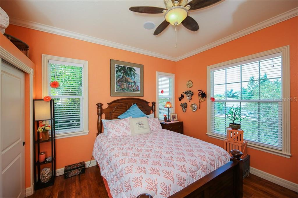3rd upstairs bedroom with crown molding - Single Family Home for sale at 17296 Foremost Ln, Port Charlotte, FL 33948 - MLS Number is C7240998