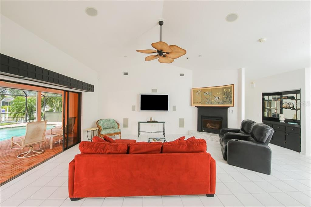 Gas fireplace for those brisk winter nights - Single Family Home for sale at 1620 Appian Dr, Punta Gorda, FL 33950 - MLS Number is C7242315