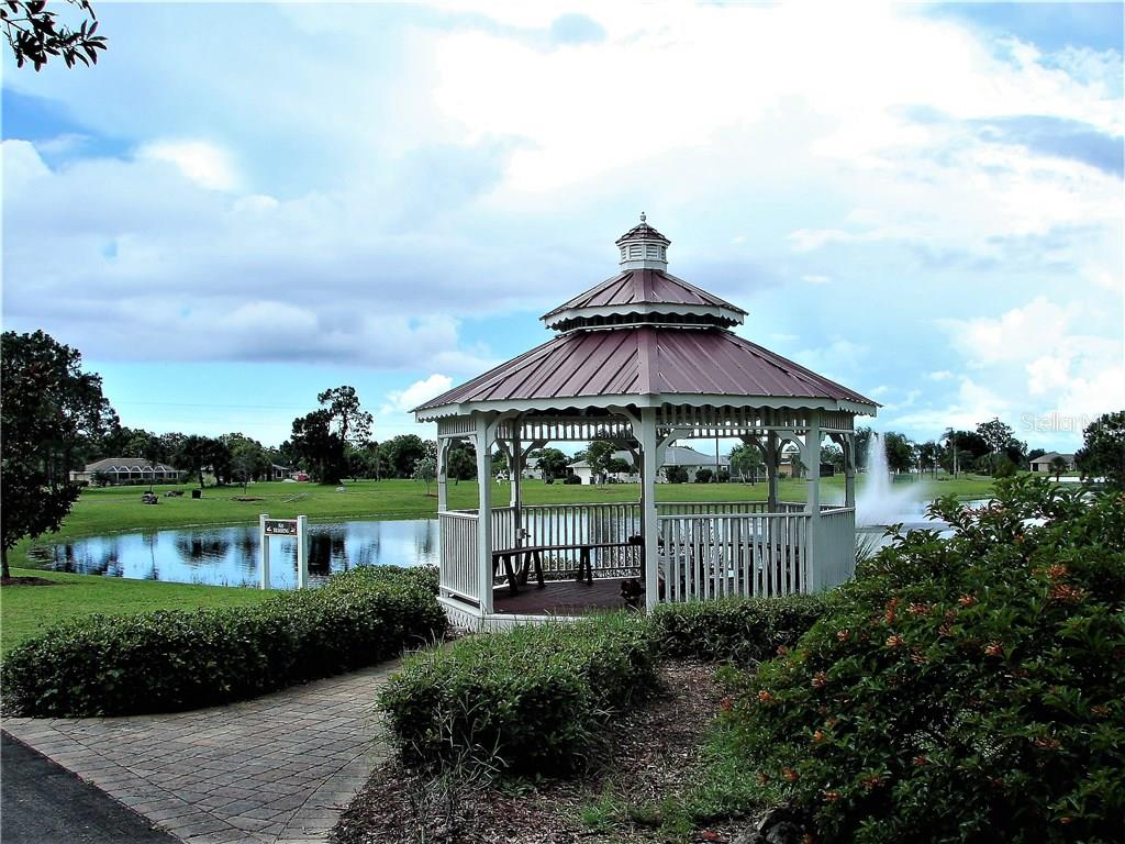 Gazebo in the park - Vacant Land for sale at 25478 Estrada Cir, Punta Gorda, FL 33955 - MLS Number is C7242940
