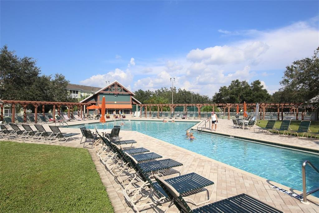 Pool is inviting - come right in! - Villa for sale at 1268 Green Oak Trl, Port Charlotte, FL 33948 - MLS Number is C7243755