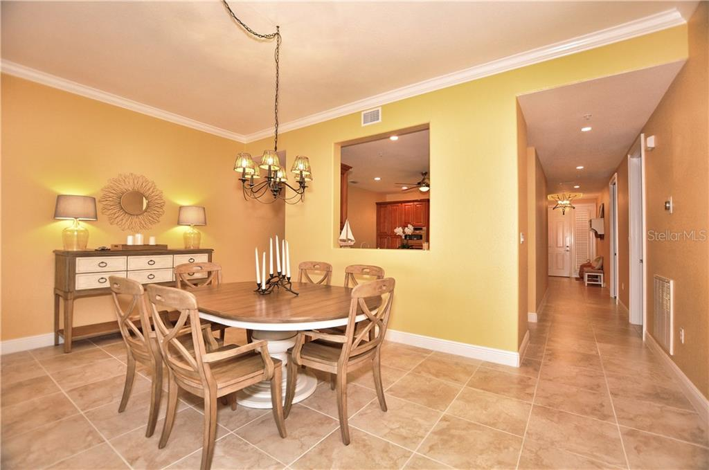 Dining area - Condo for sale at 95 N Marion Ct #136, Punta Gorda, FL 33950 - MLS Number is C7243837