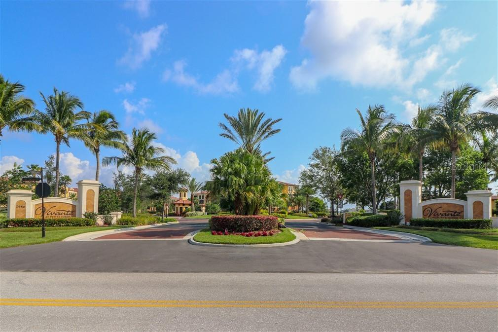 Entrance and gates - Condo for sale at 94 Vivante Blvd #9445, Punta Gorda, FL 33950 - MLS Number is C7402021