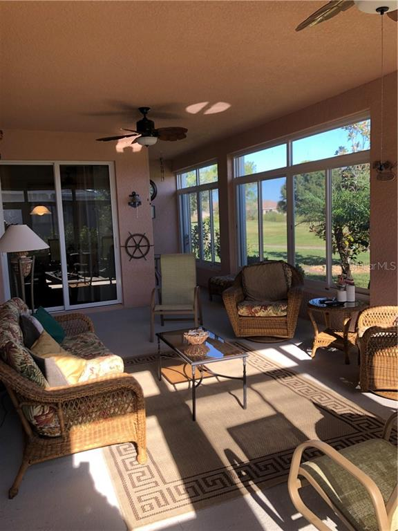 Lanai with Acrylic windows - Single Family Home for sale at 24380 Westgate Blvd, Port Charlotte, FL 33980 - MLS Number is C7408906
