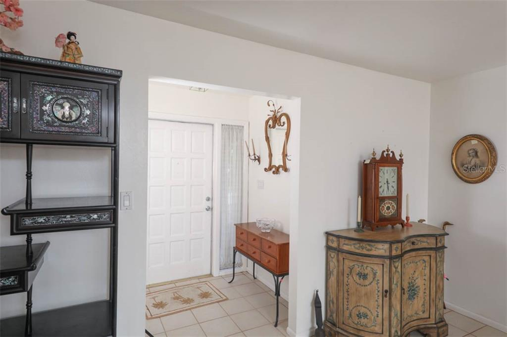 Formal entry features large hall closet. - Single Family Home for sale at 2291 Bayview Rd, Punta Gorda, FL 33950 - MLS Number is C7409445