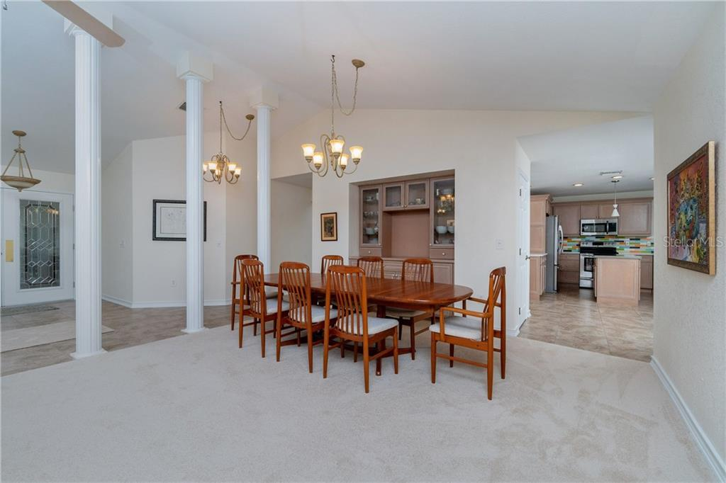 Great room opens to kitchen - Single Family Home for sale at 572 Toulouse Dr, Punta Gorda, FL 33950 - MLS Number is C7411184