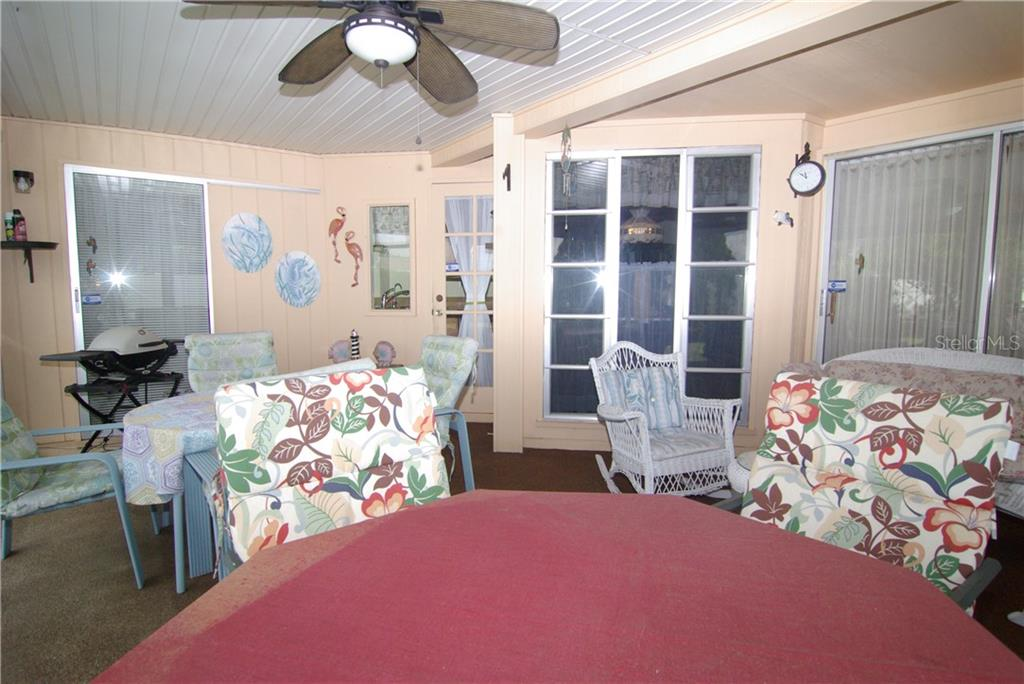 Lanai view 2 - Single Family Home for sale at 2195 Abscott St, Port Charlotte, FL 33952 - MLS Number is C7414291