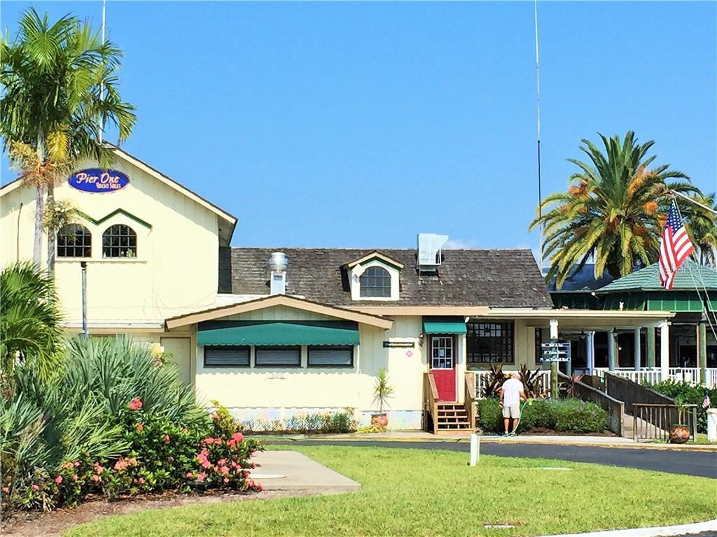 Harbor Master Office and Ship Store operate out of this building which is located on the south basin next to Cass Cay waterfront restaurant. - Single Family Home for sale at 1633 Islamorada Blvd, Punta Gorda, FL 33955 - MLS Number is C7418555