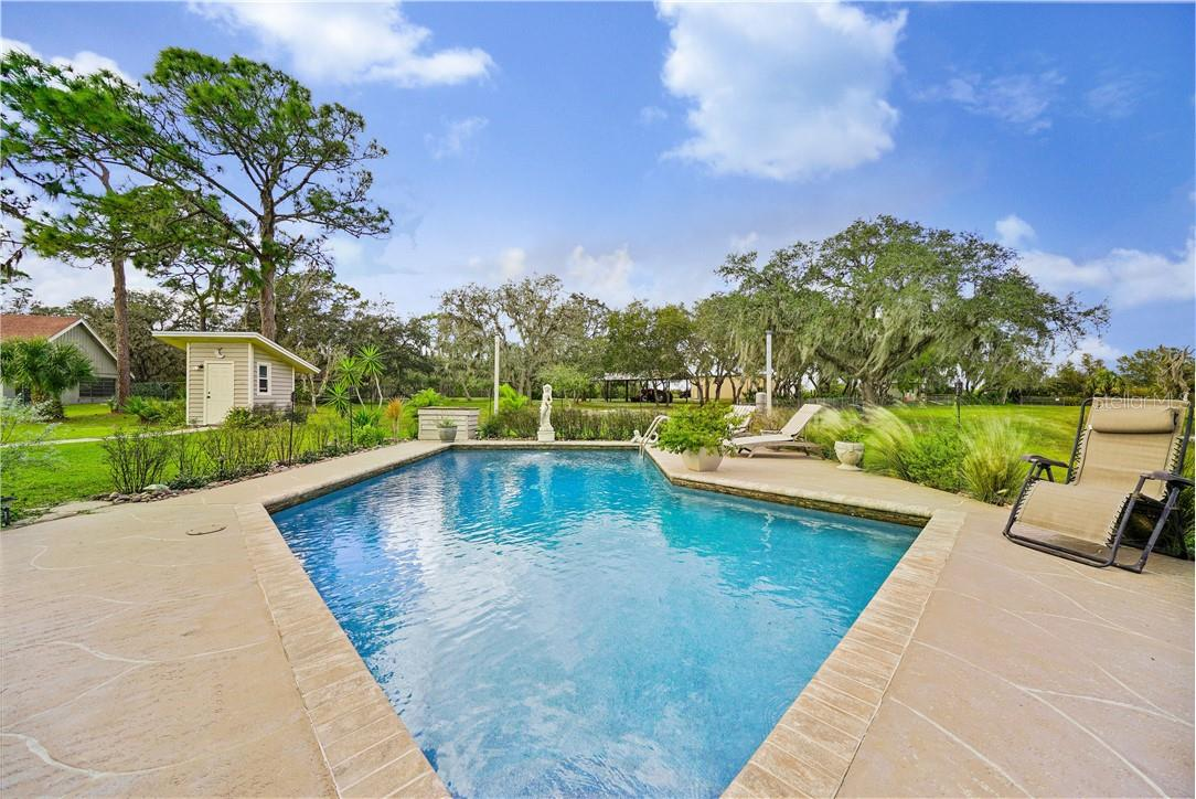 Pool - Single Family Home for sale at 1 Woodland Dr, Punta Gorda, FL 33982 - MLS Number is C7436906