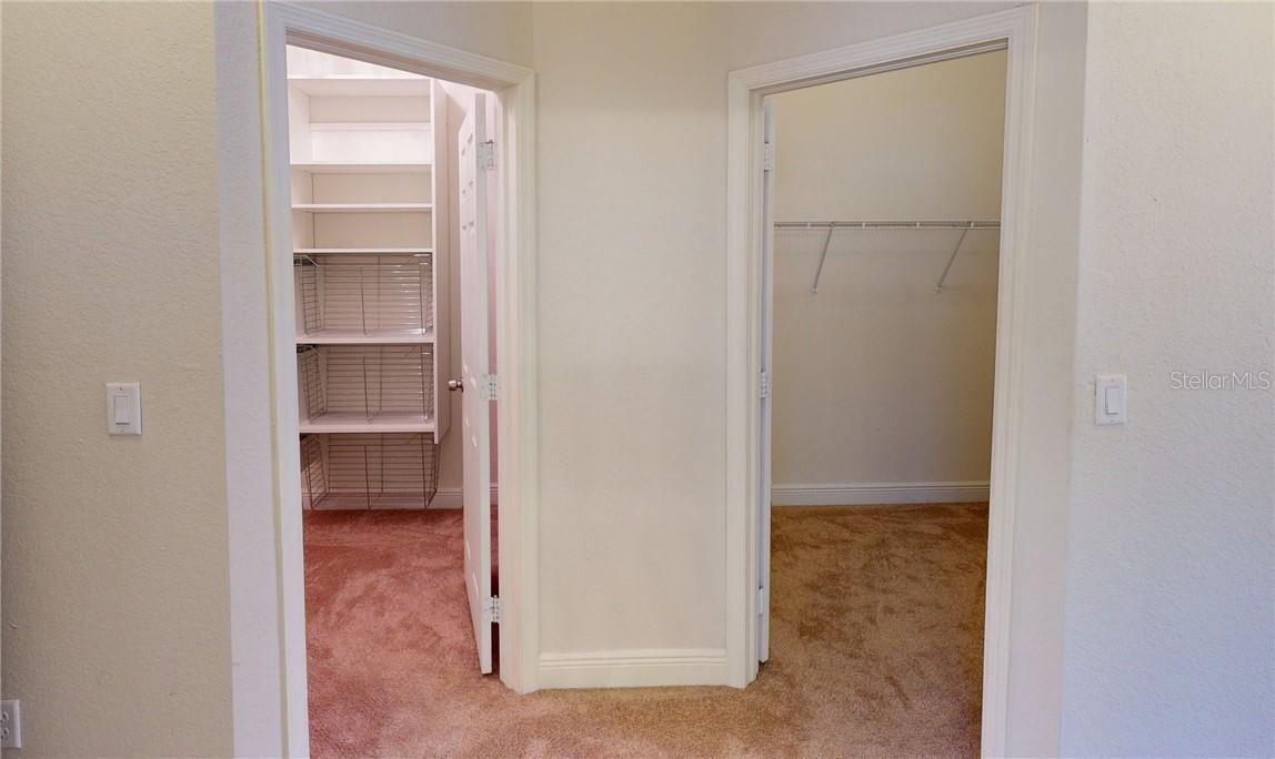 Two walk in closets and their entry from master bedroom. - Single Family Home for sale at 11905 Florence Ave, Port Charlotte, FL 33981 - MLS Number is C7441003