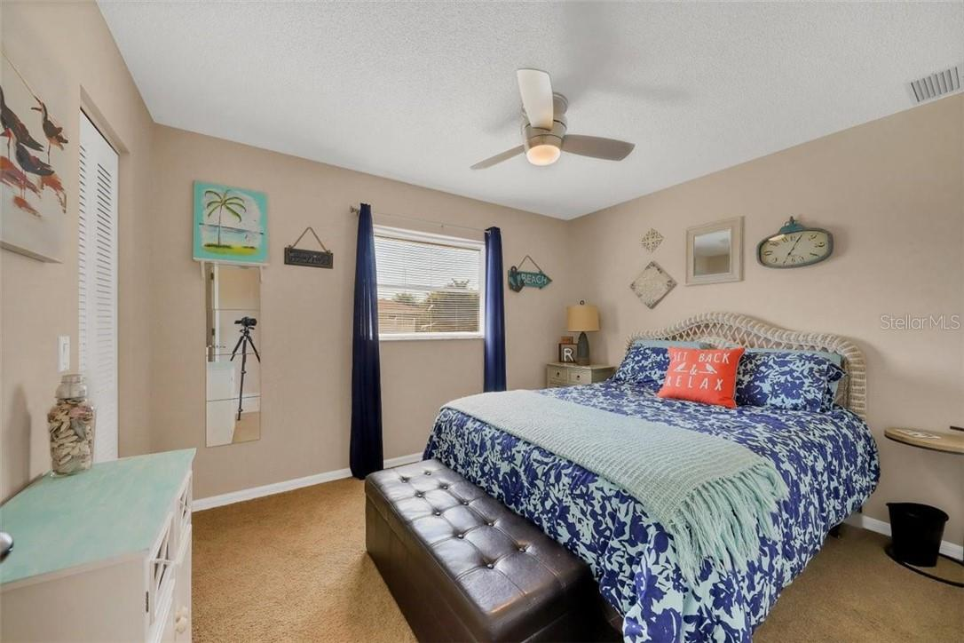 bedroom 2 has walk in closet perfect for extra storing space - Single Family Home for sale at 116 Mariner Ln, Rotonda West, FL 33947 - MLS Number is C7441260