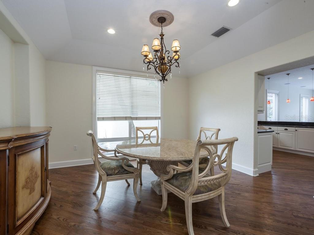 Dining room - Single Family Home for sale at 4789 Higel Ave, Sarasota, FL 34242 - MLS Number is A4169949
