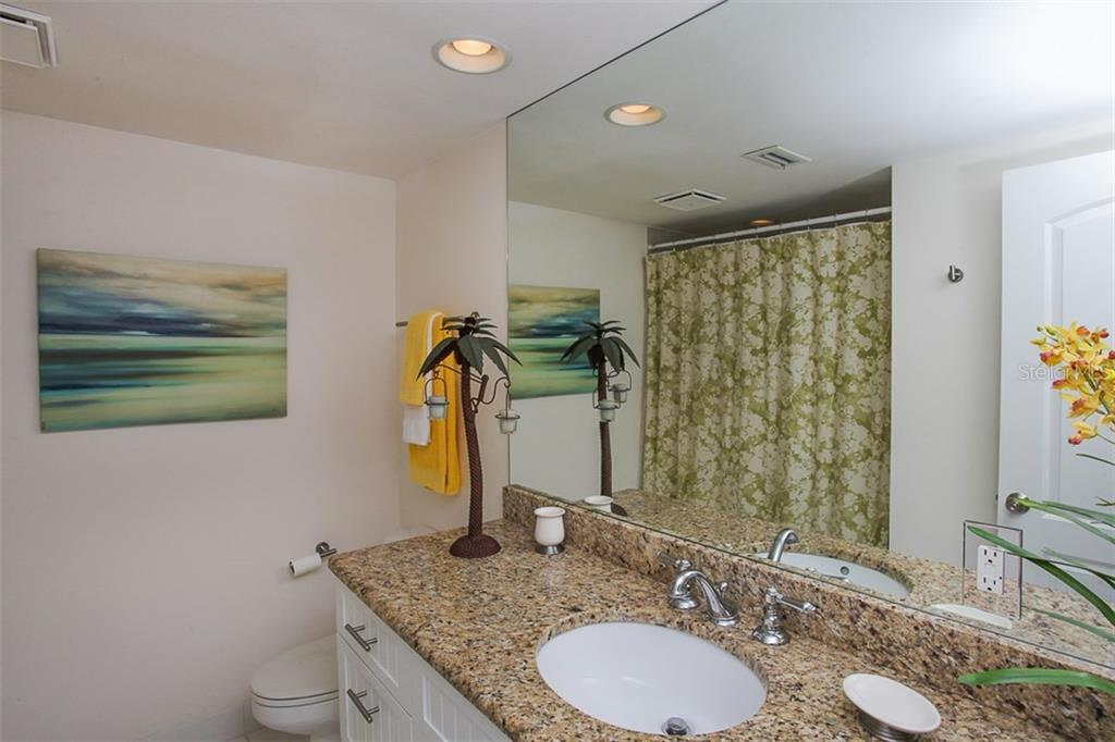 first floor bathroom - Condo for sale at 4900 Ocean Blvd #503, Sarasota, FL 34242 - MLS Number is A4171070