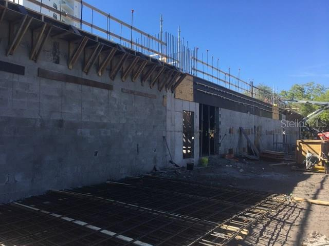 Garage 1 under construction - Condo for sale at 711 S Palm Ave #201, Sarasota, FL 34236 - MLS Number is A4174059