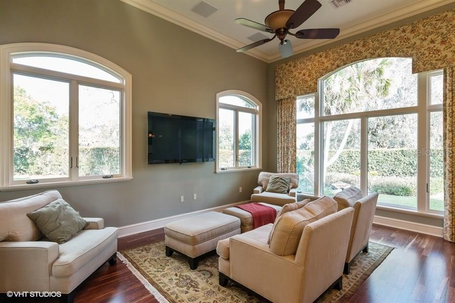 Sound Proof Media Room - Single Family Home for sale at 8130 Perry Maxwell Cir, Sarasota, FL 34240 - MLS Number is A4175735