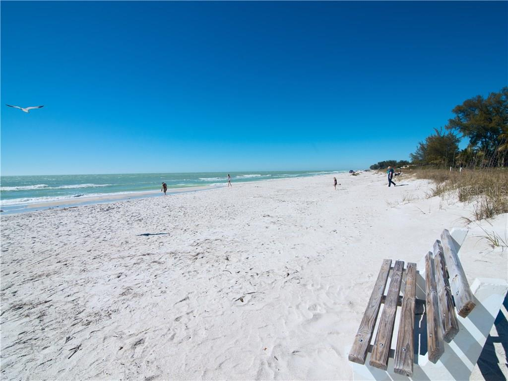 Beach in front of the complex - Condo for sale at 100 73rd St #204a, Holmes Beach, FL 34217 - MLS Number is A4185340