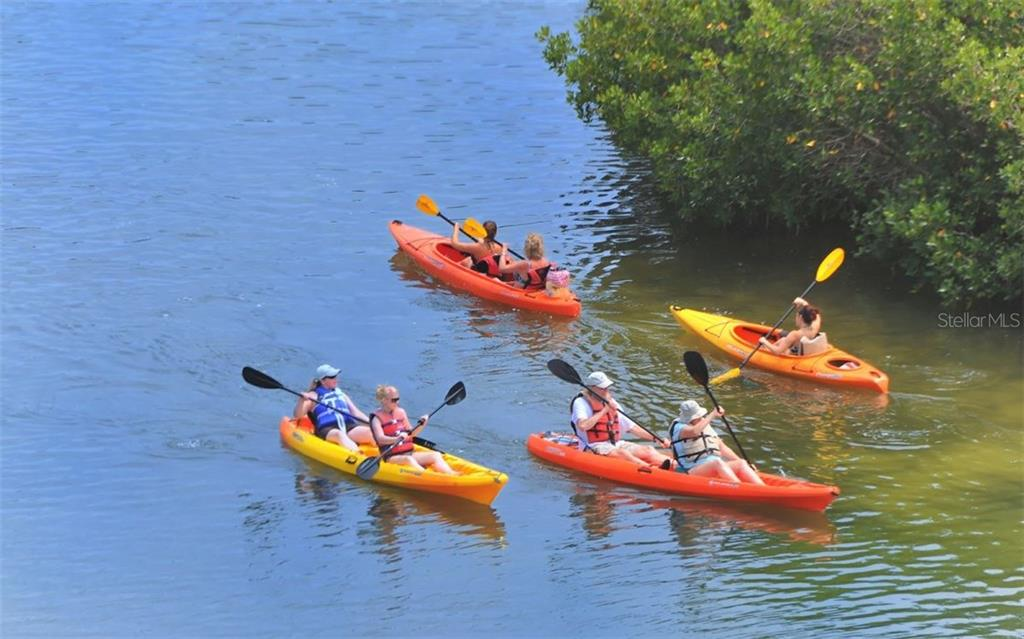Kayaking excursion - Condo for sale at 9397 Midnight Pass Rd #403, Sarasota, FL 34242 - MLS Number is A4185842