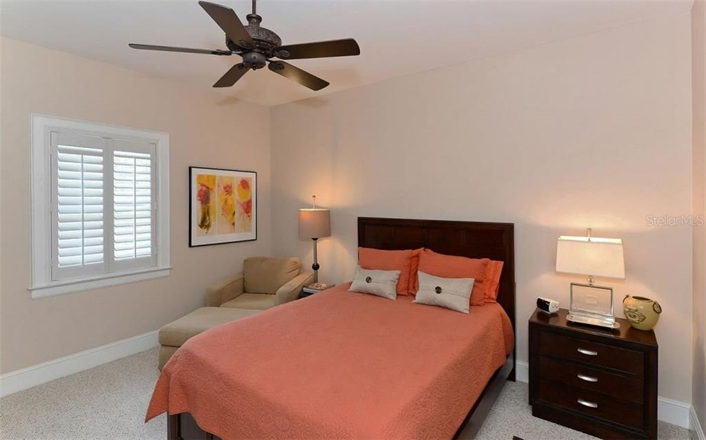 Guest Bedroom - Townhouse for sale at 68 Bishops Court Rd #115, Osprey, FL 34229 - MLS Number is A4187983