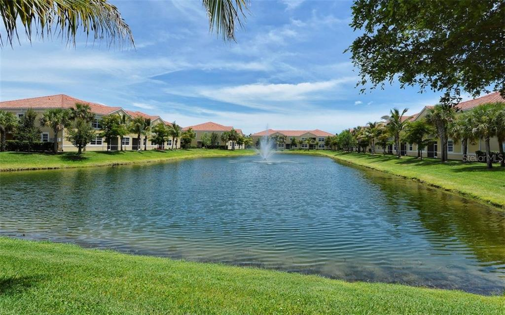 Community lake - Condo for sale at 81 Navigation Cir #103, Osprey, FL 34229 - MLS Number is A4188370