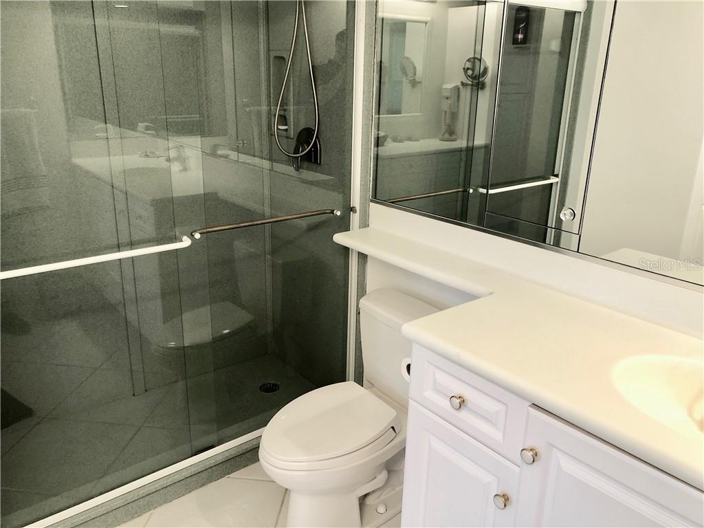 Master Bathroom - Condo for sale at 19 Whispering Sands Dr #902, Sarasota, FL 34242 - MLS Number is A4191916