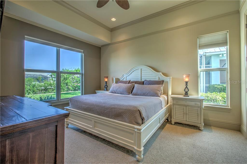 Bedroom #3 This is on the 1st floor overlooking the canal. - Single Family Home for sale at 548 Fore Dr, Bradenton, FL 34208 - MLS Number is A4196590