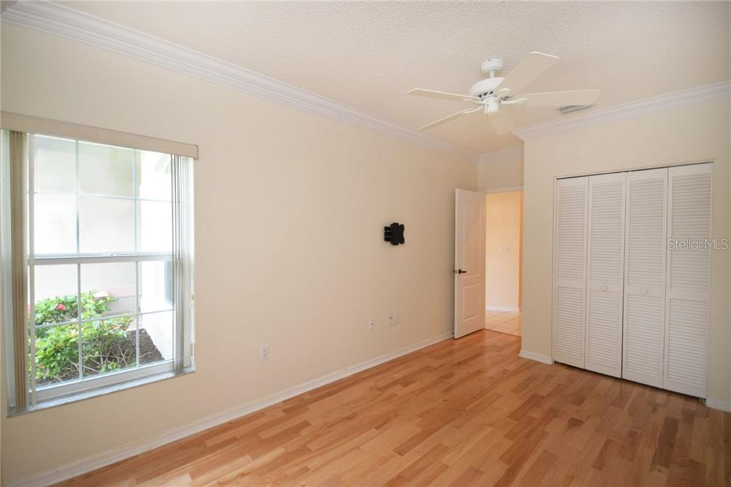 Second bedroom. - Single Family Home for sale at 9520 Hawksmoor Ln, Sarasota, FL 34238 - MLS Number is A4197662